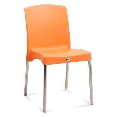 hybrid plastic orange chair
